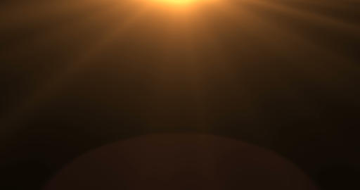 gold warm color bright lens flare rays flashes leak movement for transitions on black Footage
