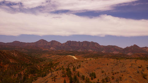Flinders Ranges stock footage
