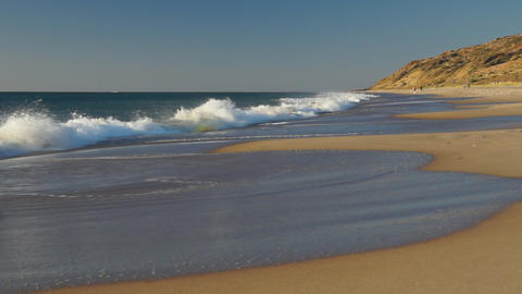Ocean beach in South Australia Stock Video Footage