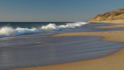 Ocean beach in South Australia Footage