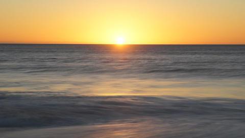 Ocean Sunset Stock Video Footage