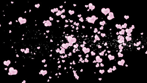 Hearts  1 stock footage