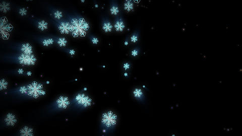 Snow  1 stock footage
