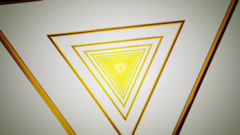 yellow triangle rotation Animation