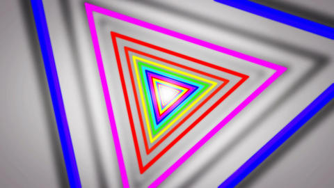 triangle shadow tunnel Animation
