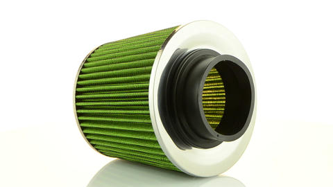 Air cone filter Stock Video Footage