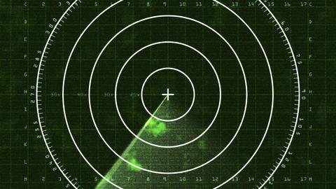 Radar Screen 03 (30fps) Stock Video Footage