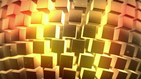 Gold Background, Loop Seamless, Animation stock footage