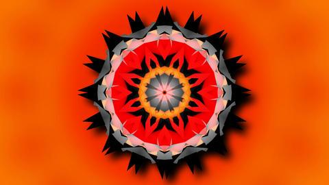 abstract center starlish Animation