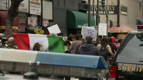 20120501 Occupy LA A 019 Footage