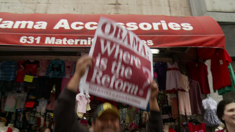 20120501 Occupy LA A 038 Stock Video Footage
