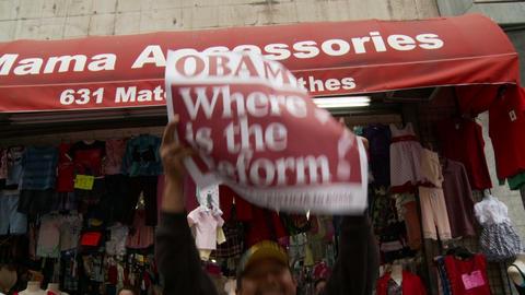 20120501 Occupy LA A 038 Stock Video Footage