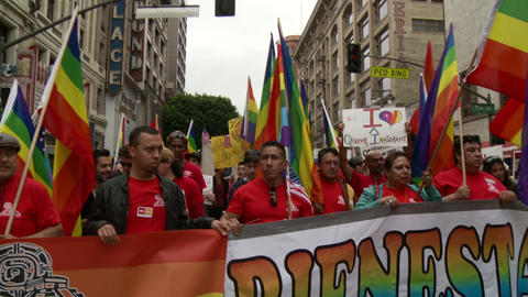 20120501 Occupy LA A 051 Stock Video Footage