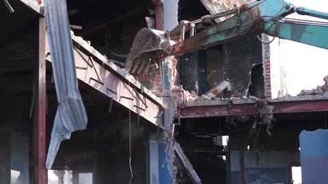 Destruction of Building Stock Video Footage
