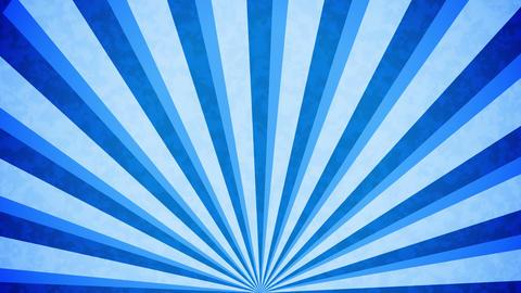 Blue Sun burst retro background design Animation