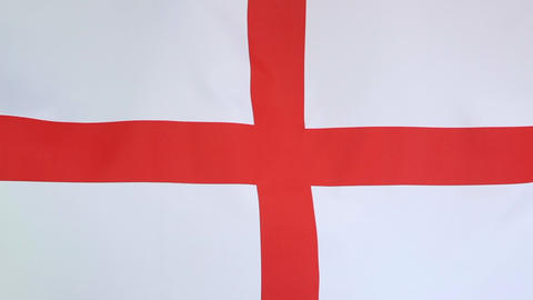 Flag of England Footage