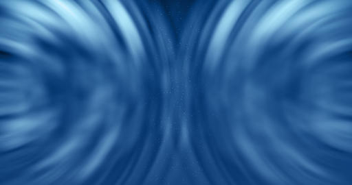 3D rendering, abstract cosmic explosion shockwave blue energy on black background Footage