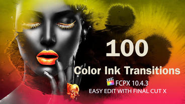 Color Ink Transitions Apple Motion Template