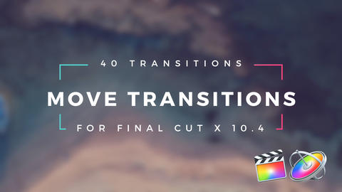 Move Transitions Apple Motion Template