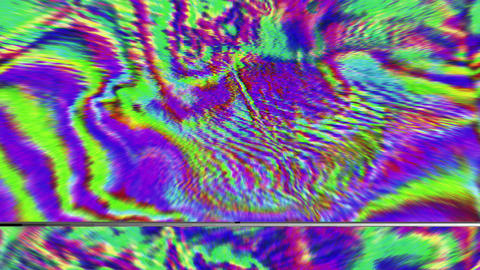 Charming distorted light leaks shimmering background Footage