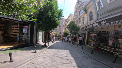 Walking in the streets of Istanbul GIF