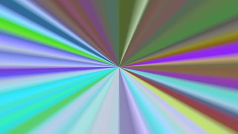 Hypnotizing distorted glittering kaleidoscope Footage