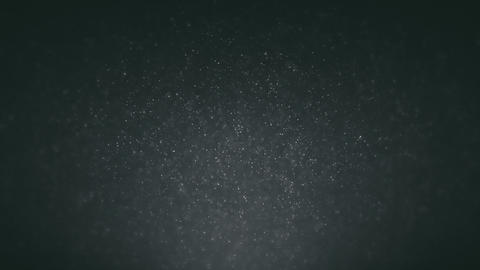 Abstract background with moving and flicker particles. On beatiful relaxing Footage