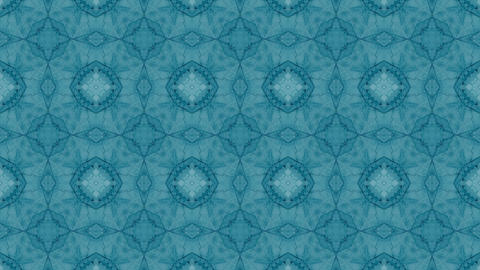 Hypnotic Kaleidoscope Background Loop Ready. Computer generated abstract motion background. Perfect CG動画