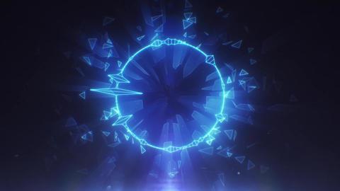 Audio Spectrum Music Visualizer 01 Videos animados