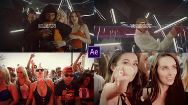 Special Party Intro After Effects Template