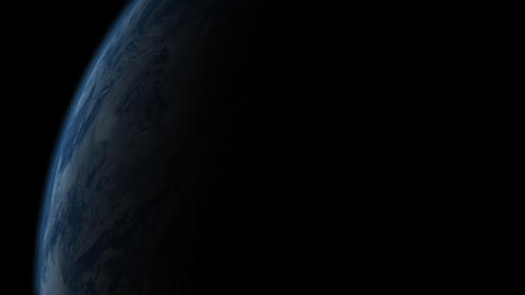 Sun Rising Over The Earth Animation
