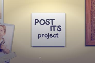 Post Its Apple-Motion-Projekt