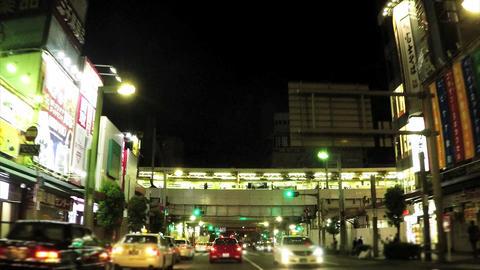 Japan's leading shopping spot, near the Ameyoko/夜のアメ横付近 Footage