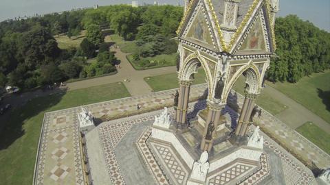 Albert memorial in Hyde Park ビデオ