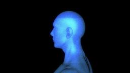 Human Hologram Animation