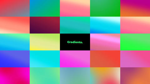 Gradients FCPX Apple Motion Template