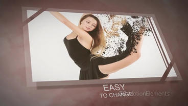 Particle Motion - Photo Animation Particular Effects After Effects Template
