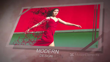 Photo Slideshow Particle effects After Effects Template