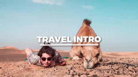 Travel Intro After Effects Template