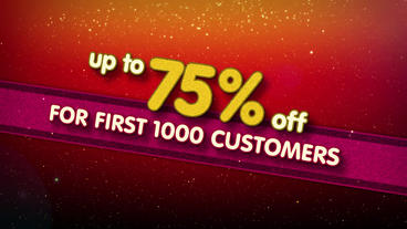 Sales Promotion Brand After Effects Templates