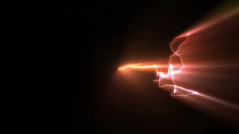 Colorful Light Structures Animation