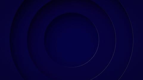 カラフルな円が広がるアニメーション CG動画