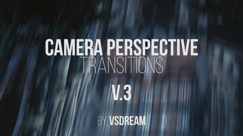 Camera Perspective Transitions v 3 Premiere Pro Template