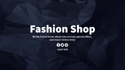 Fashion Shop After Effects Template