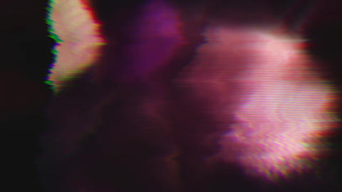 Multi-colored distorted light transformations iridescent background Footage