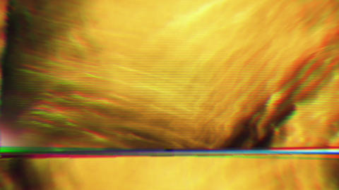 Hypnotizing bad tv, psychedelic experience effect flare holographic background Live Action