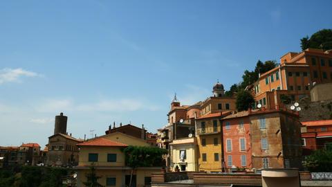 historic center of Nemi, province of Rome Footage