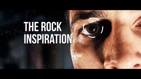 The rock inspiration Premiere Pro Template