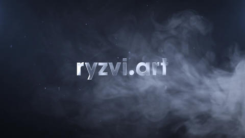 Smoke Logo Reveal After Effects Template