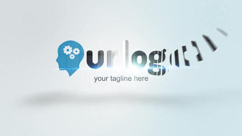 Corporate Logo Center After Effects Template